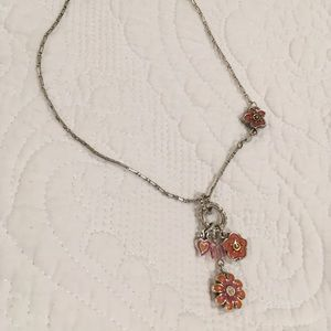 Brighton pink /orange necklace